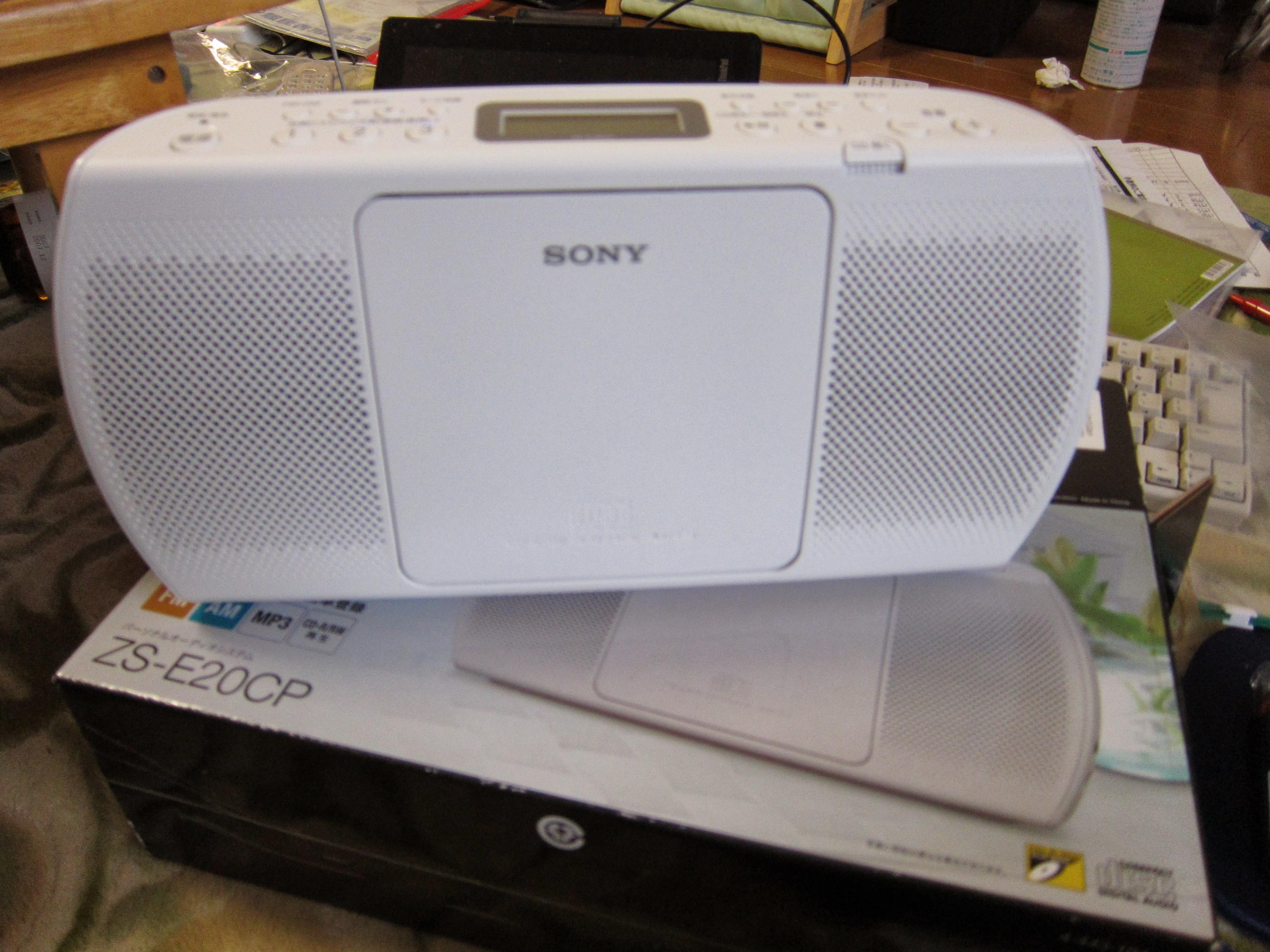 ラジオCD ZS-E20CP